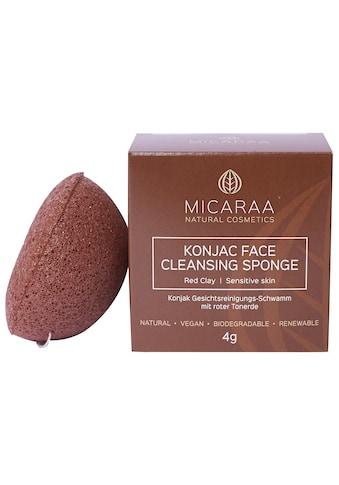 MICARAA NATURAL COSMETICS Gesichtsschwamm »mit Tonerde«, unreine Haut, biologisch... kaufen