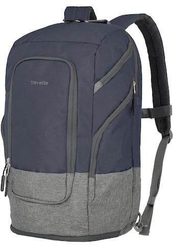 travelite Laptoprucksack »Basics L, 48 cm, marine« kaufen
