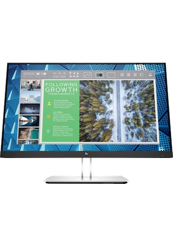 "HP LED-Monitor »E24q G4«, 60,5 cm/23,8 "", 2560 x 1440 px, QHD, 5 ms Reaktionszeit kaufen"