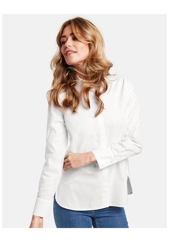 GERRY WEBER Bluse 1/1 Arm »Langarmbluse aus reiner Baumwolle« kaufen