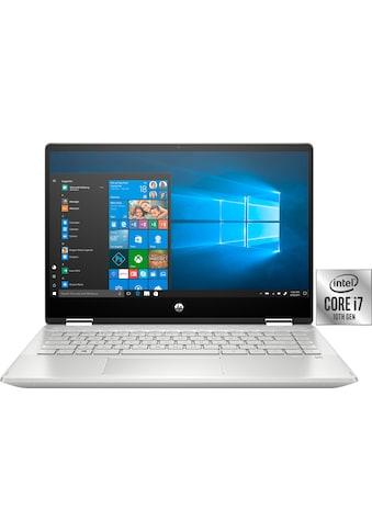 HP Pavilion x360 Convertible Notebook (35,56 cm / 14 Zoll, Intel,Core i7, 512 GB SSD) kaufen