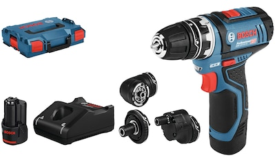 Bosch Professional Akku-Bohrschrauber »GSR 12V-15«, (Set), inkl. 2 Akkus, Ladegerät,... kaufen