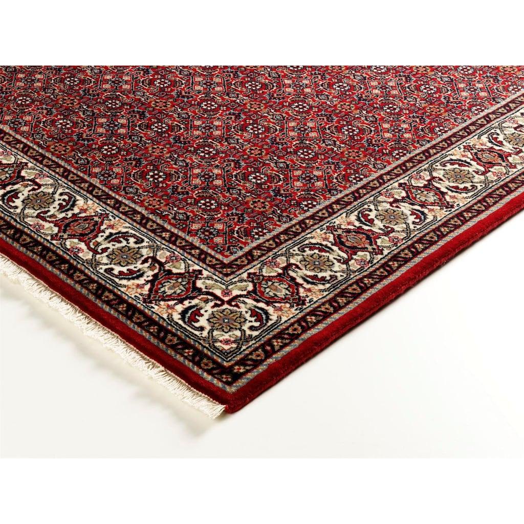 OCI DIE TEPPICHMARKE Orientteppich »Kamaro Herati«, rechteckig, 20 mm Höhe, reine Wolle, handgeknüpft, mit Fransen, Wohnzimmer