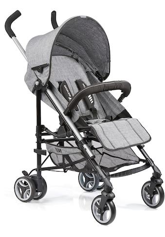 Gesslein Kinder-Buggy »S5 2+4, Grau Meliert«, mit schwenkbaren Vorderrädern kaufen