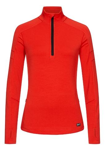 SUPER.NATURAL Sweatshirt »W MOTION 1/4 ZIP« kaufen