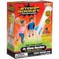 Stomp Rocket Spiel »Jr. Glow, 4 Rkts«, mit Glow-in-the-Dark-Effekt, Startrampe und Kompressionskissen
