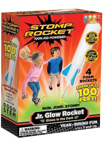 Stomp Rocket Spiel »Jr. Glow, 4 Rkts«, mit Glow-in-the-Dark-Effekt, Startrampe und... kaufen