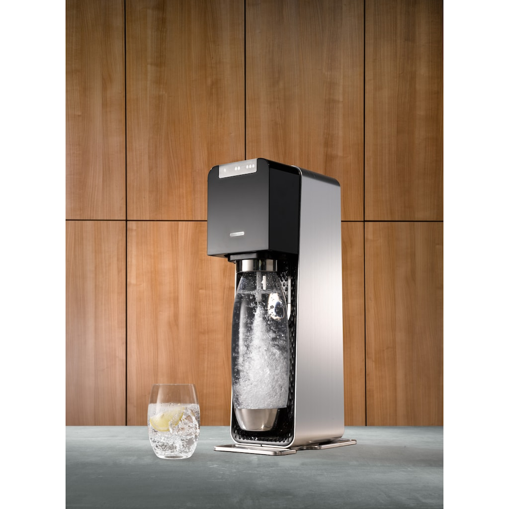 SodaStream Wassersprudler »Power«, (Set, 1 SodaStream Power, 1 PET Flasche, 1 Zylinder)