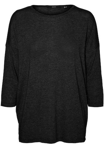 Vero Moda Rundhalsshirt »VMCARLA 3/4 TOP« kaufen