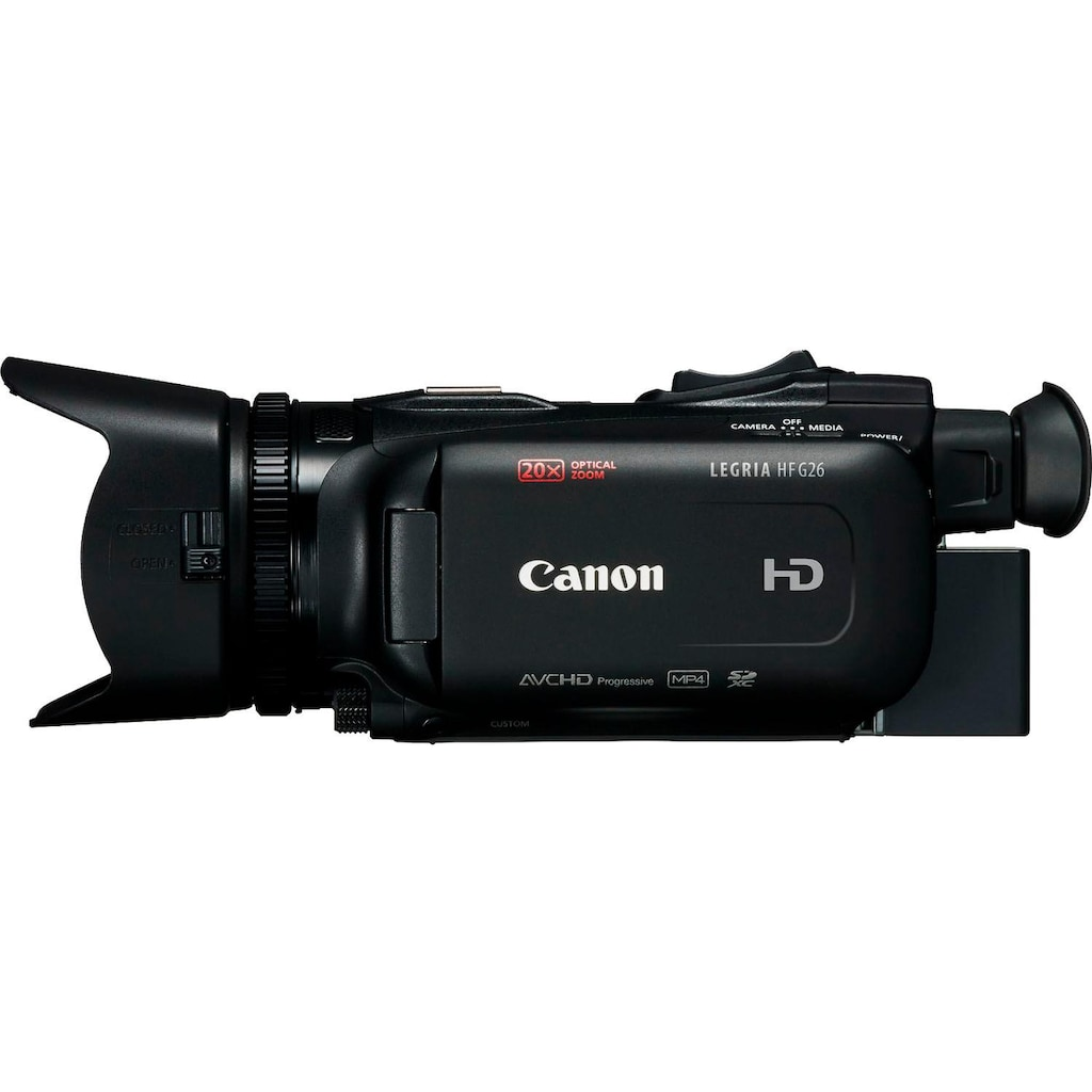 Canon Camcorder »Legria HF-G26 schwarz«, Full HD, 20x opt. Zoom