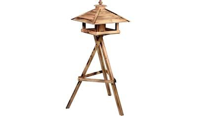 dobar green label Vogelhaus »Lumbre«, BxTxH: 50x50x36 cm, mit Futtersilo im Inneren,... kaufen