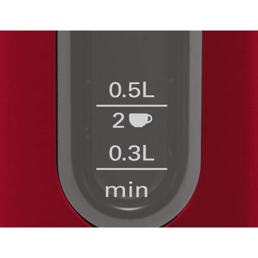 BOSCH Wasserkocher »TWK4P434 DesignLine«, 1,7 l, 2400 W