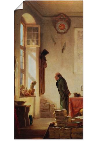 Artland Wandbild »Der Kaktusliebhaber. Um 1865« kaufen