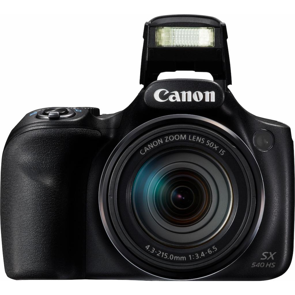 Canon Superzoom-Kamera »PowerShot SX540 HS«, 20,3 MP, 50x opt. Zoom, WLAN (Wi-Fi)-NFC, PictBridge-Unterstützung