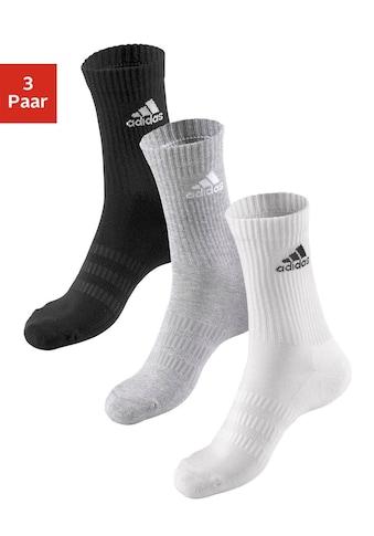 adidas Performance Tennissocken, (3 Paar), mit Fuß Polsterung kaufen