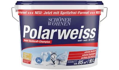 SCHÖNER WOHNEN FARBE Innenfarbe »Polarweiss«, starke Deckkraft kaufen
