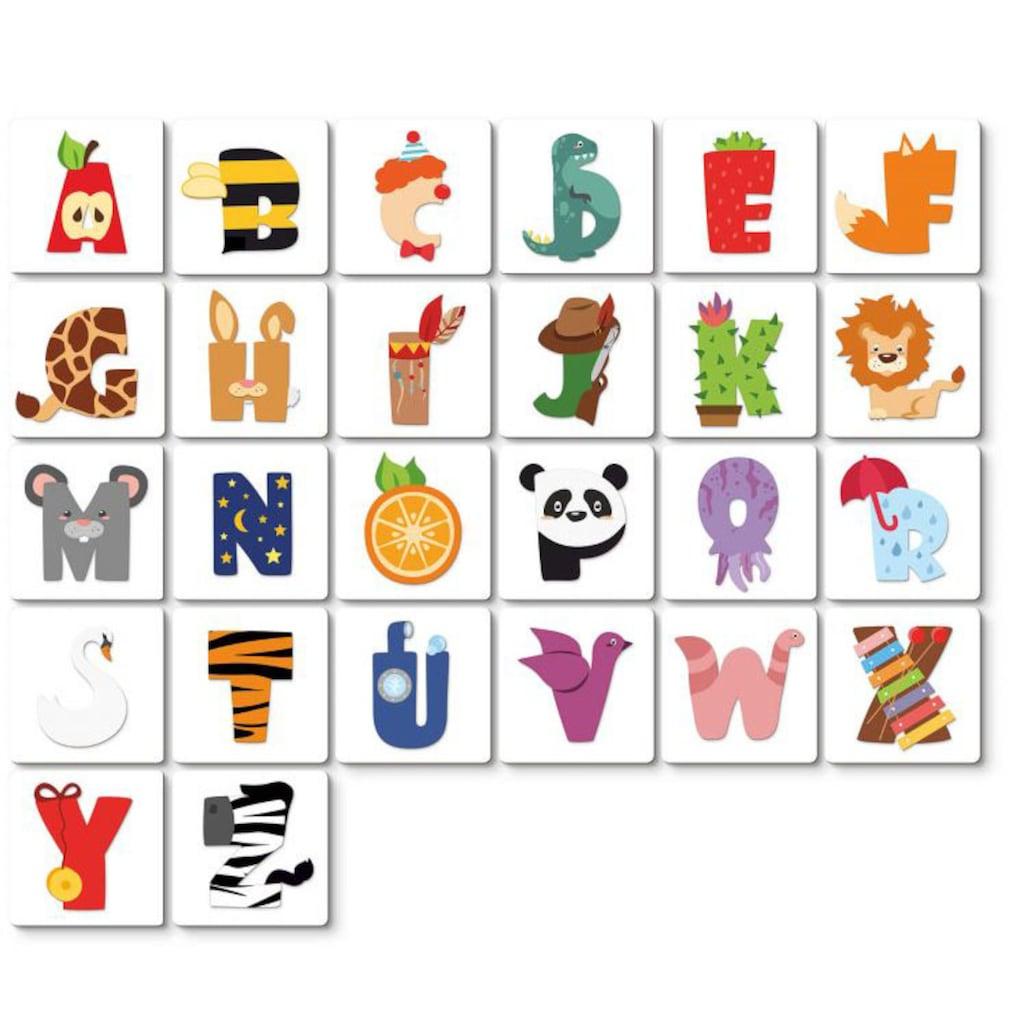 Wall-Art Deko-Buchstaben »Lernbuchstaben Kinderzimmer 15cm«