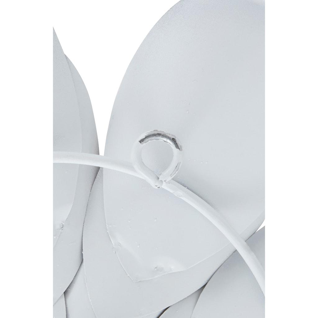 Home affaire Wanddekoobjekt »Blumen«, Wanddeko, aus Metall