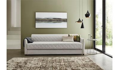 ATLANTIC home collection Schlafsofa, mit Bettfunktion, inklusive Topper mit... kaufen