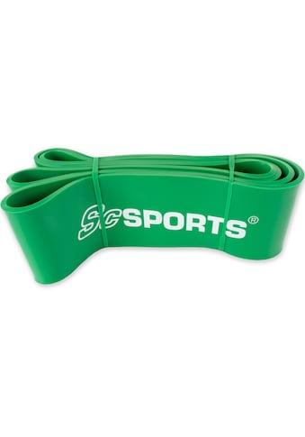 ScSPORTS® Fitnessband »Fitnessband 208 x 8,3 cm grün« kaufen