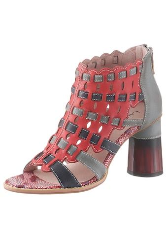 LAURA VITA Sandalette »Gucstoo«, in auffälliger Optik kaufen