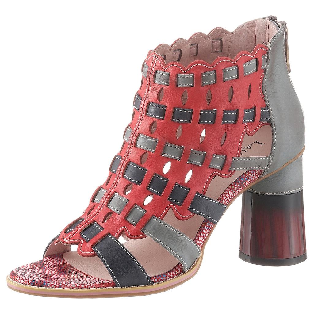 LAURA VITA Sandalette »Gucstoo«, in auffälliger Optik
