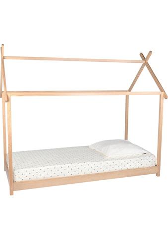 Lüttenhütt Hausbett »Limba«, Kinderbett in skandinavischem Stil kaufen