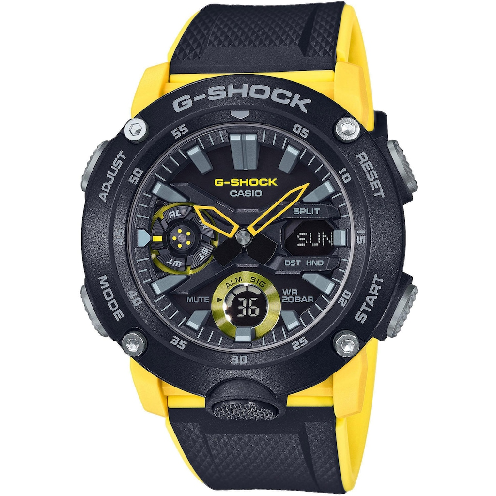 CASIO G-SHOCK Chronograph »GA-2000-1A9ER«