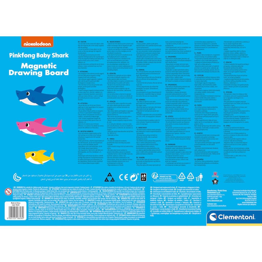 Clementoni® Zaubertafel »Clementoni Baby - Baby Shark«, Made in Europe