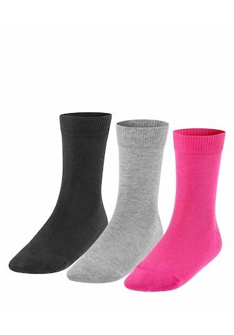 FALKE Socken »Family 3-Pack«, (3 Paar), aus hautfreundlicher Baumwolle kaufen
