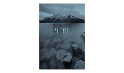 KOMAR XXL Poster »Worls Lake Silence Steel« kaufen