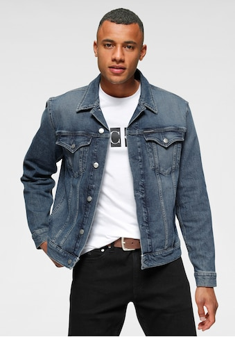 Calvin Klein Jeans Jeansjacke »FOUNDATION SLIM DENIM JACKET« kaufen