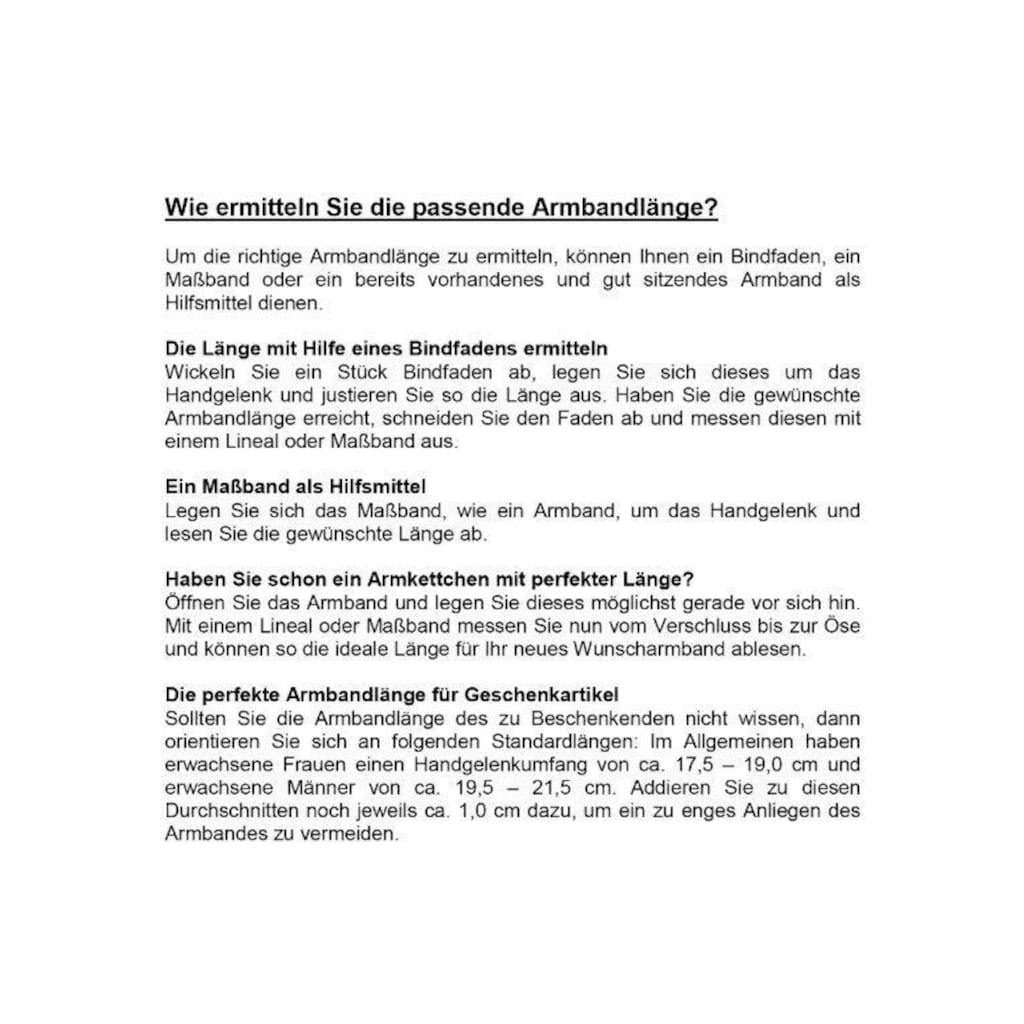 Les Georgettes Einlage für Armschmuck »Petrol/Himbeere, LEDM7«