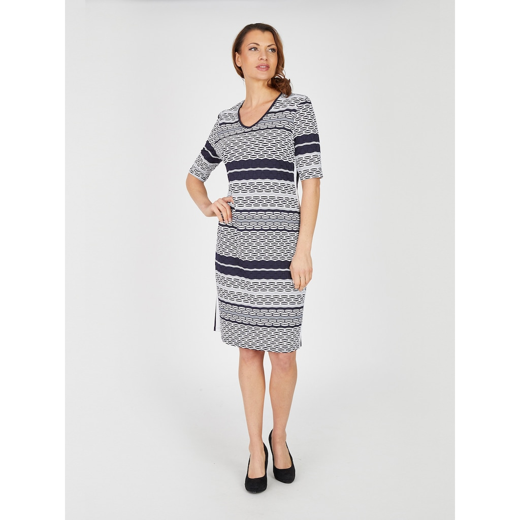 Seidel Moden Modernes Streifen-Kleid