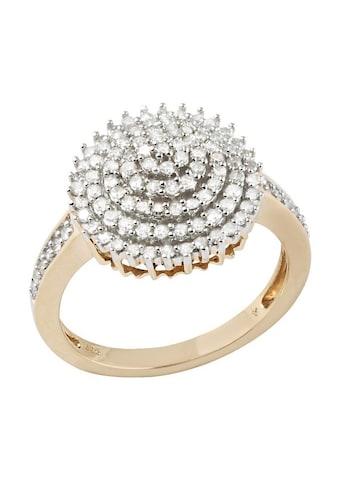 Firetti Diamantring »Blume/Blüte«, mit Diamanten kaufen