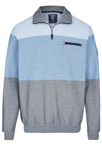 Hajo Sweatshirt mit Troyerkragen kaufen