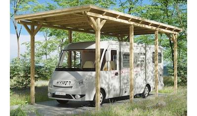 SKANHOLZ Einzelcarport »Caravan - Emsland«, BxT: 404x846 cm, Einfahrthöhe: 353 cm kaufen