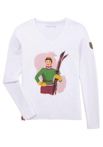 Almgwand Trachtenshirt, Damen, mit Druckmotiv kaufen
