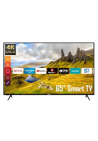 """Telefunken LED-Fernseher »XU65K529«, 164 cm/65 """", 4K Ultra HD, Smart-TV kaufen"""