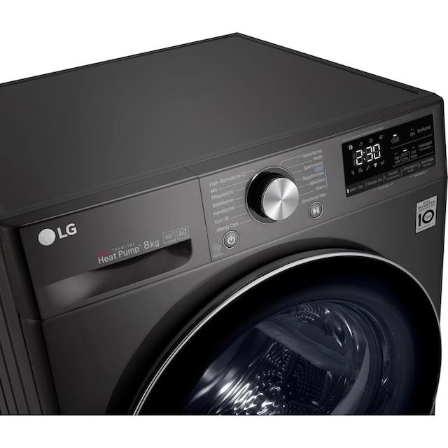 LG Wärmepumpentrockner DV908IH2, 8 kg