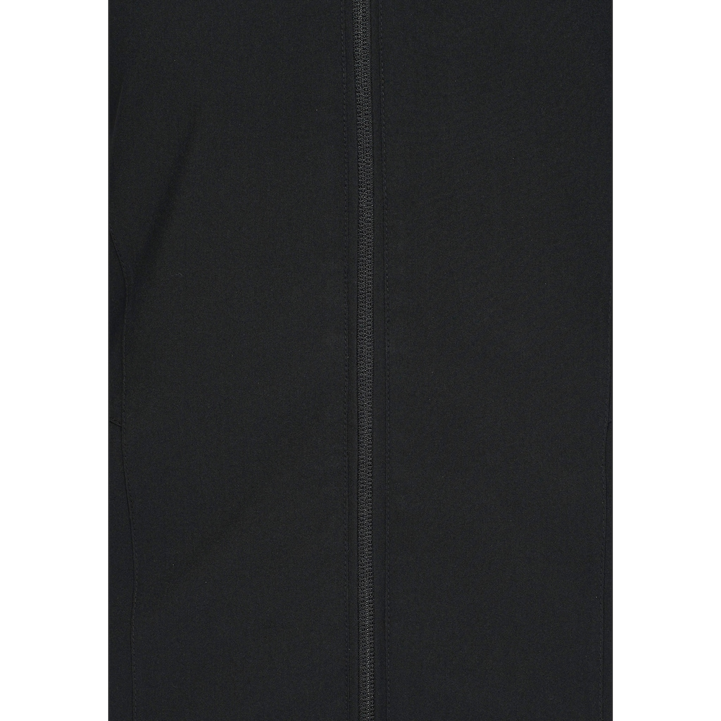 Polarino Funktionsjacke, aus leichtem Funktionsmaterial