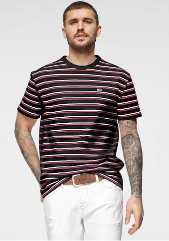 Tommy Jeans T-Shirt »TJM TWO TONE STRIPE CLASSIC TEE« kaufen