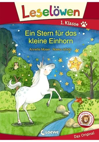 Buch »Leselöwen 1. Klasse - Ein Stern für das kleine Einhorn / Annette Moser, Naeko... kaufen
