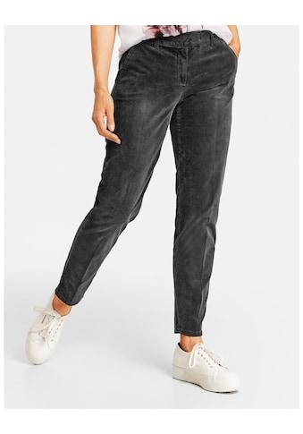 GERRY WEBER Stretch - Hose »Hose mit Used Effekten Citystyle« kaufen