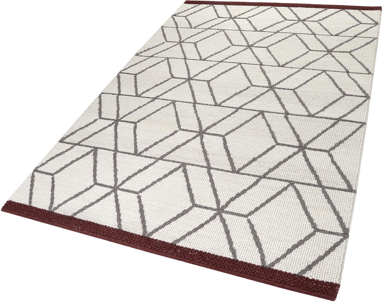 Teppich Hexagon Esprit rechteckig Höhe 8 mm handgewebt
