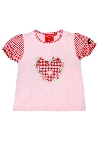 BONDI Trachtenshirt, mit süßem Herzprint kaufen