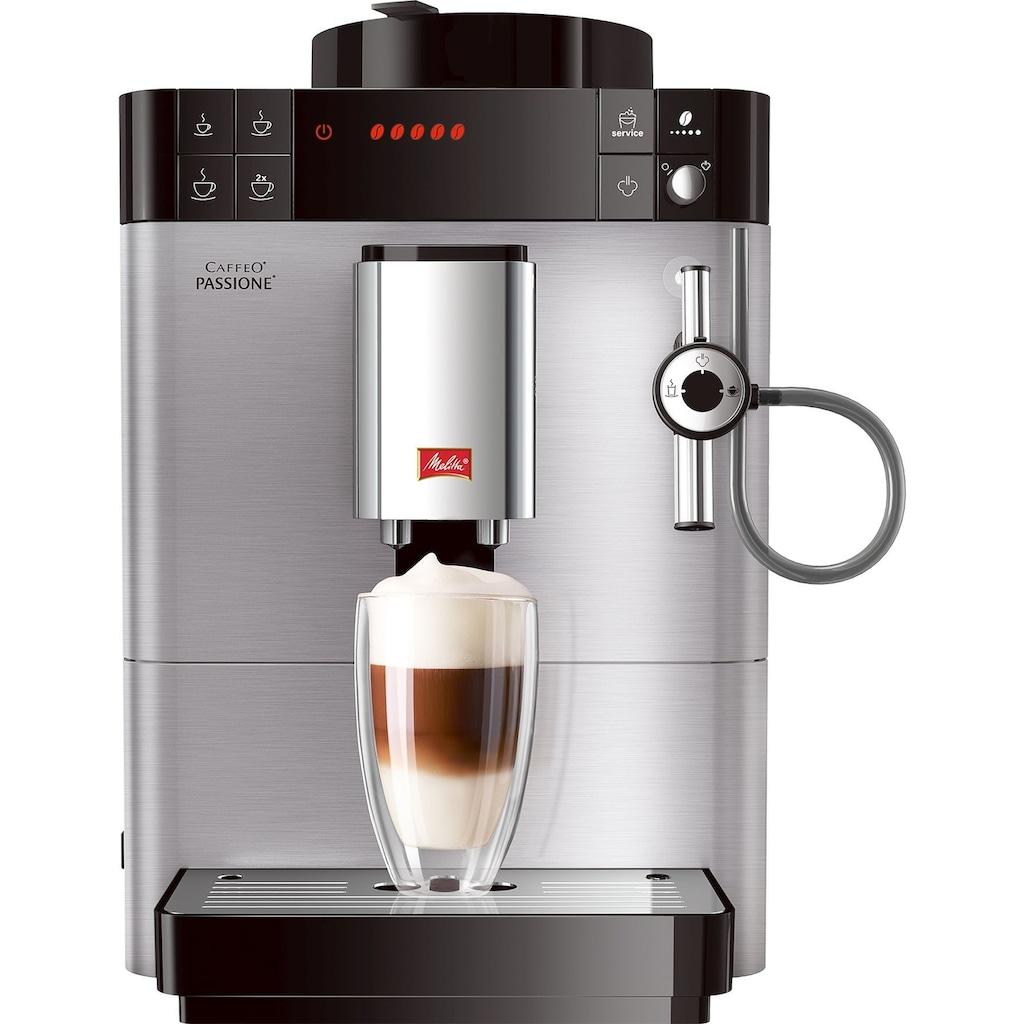Melitta Kaffeevollautomat »Caffeo® Passione® F54/0-100«, mit herausnehmbarer Brühgruppe