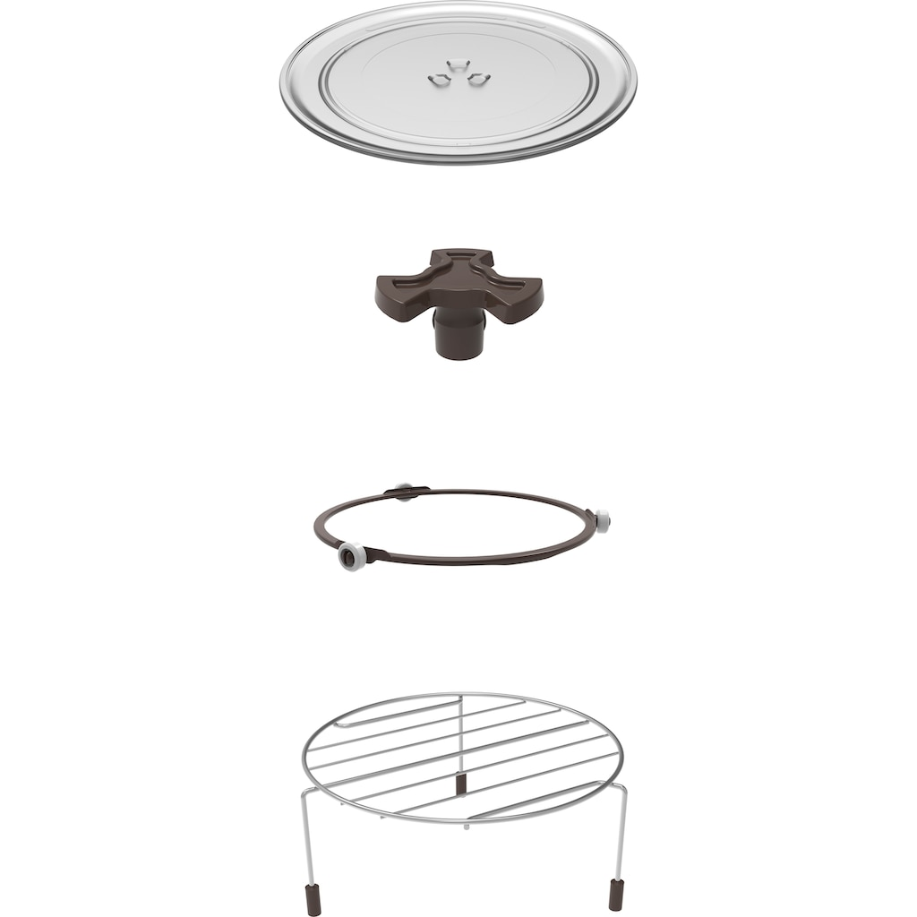 Hanseatic Mikrowelle »65509859«, Grill, 700 W