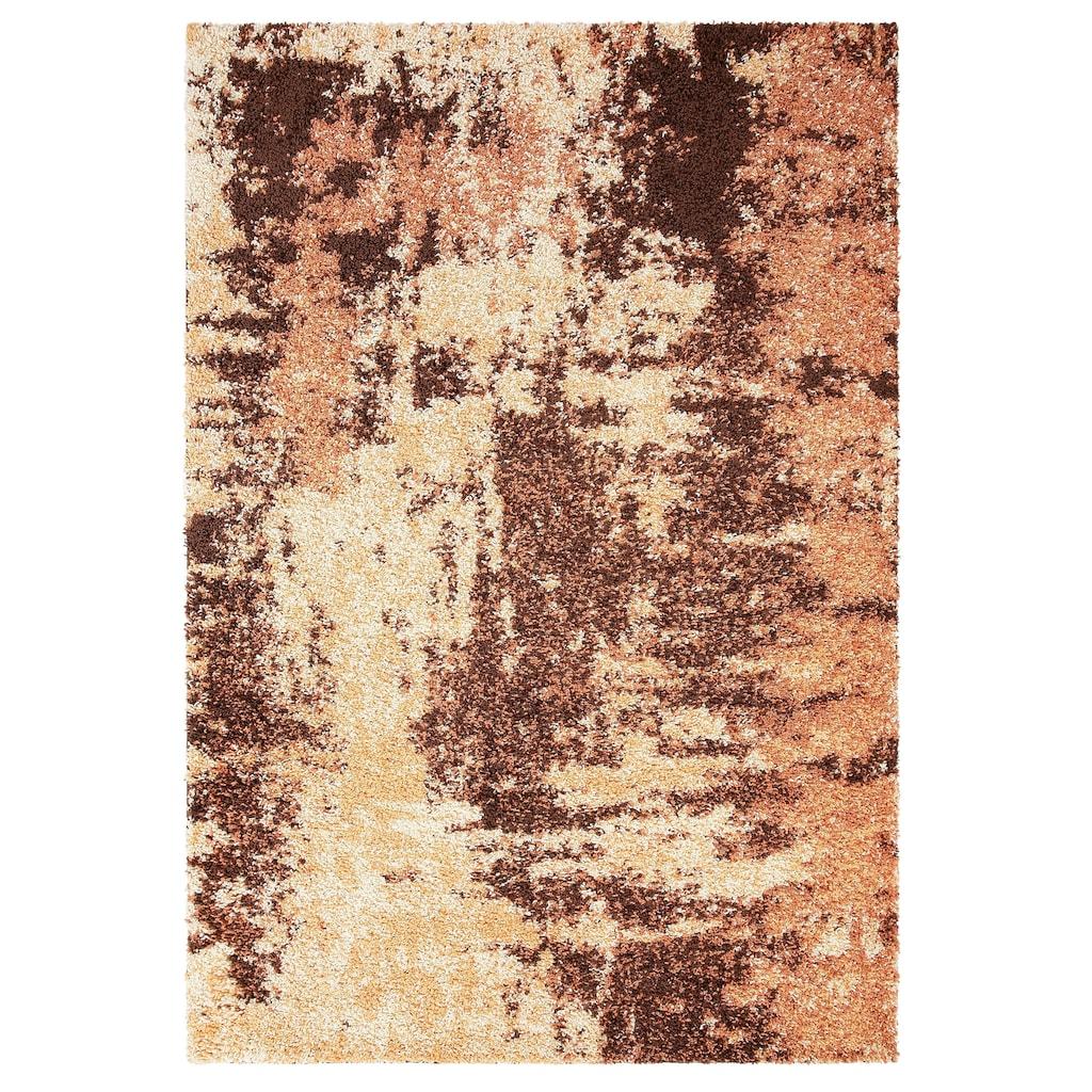 my home Hochflor-Teppich »Hannes«, rechteckig, 30 mm Höhe, Vintage Design, Wohnzimmer