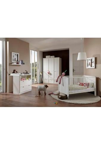 Babyzimmer-Komplettset »Helsingborg«, (Set, 3 St.), Bett + Wickelkommode + 3 trg. Schrank kaufen
